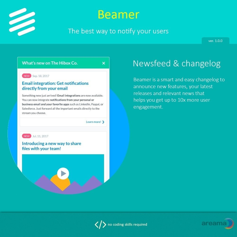 module - Blog, Forum & Nieuws - Beamer – The best way to notify your users - 2