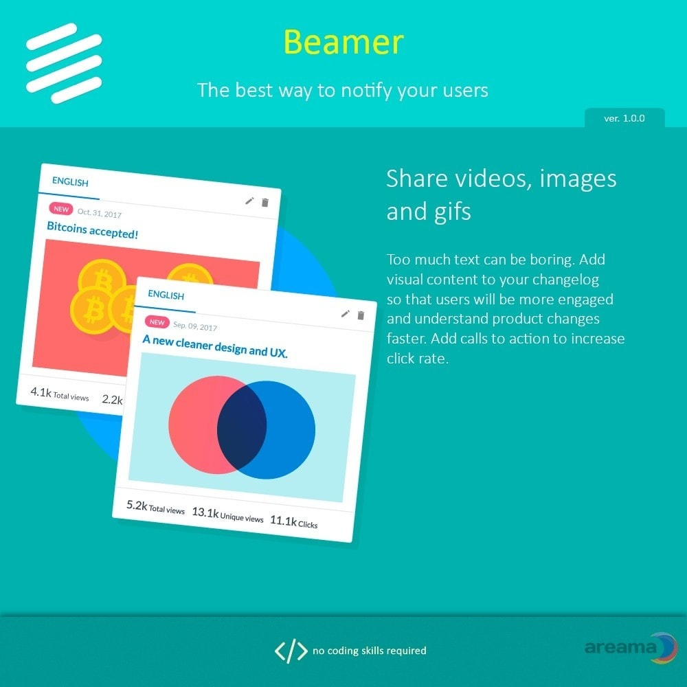 module - Blog, Forum & Nieuws - Beamer – The best way to notify your users - 3