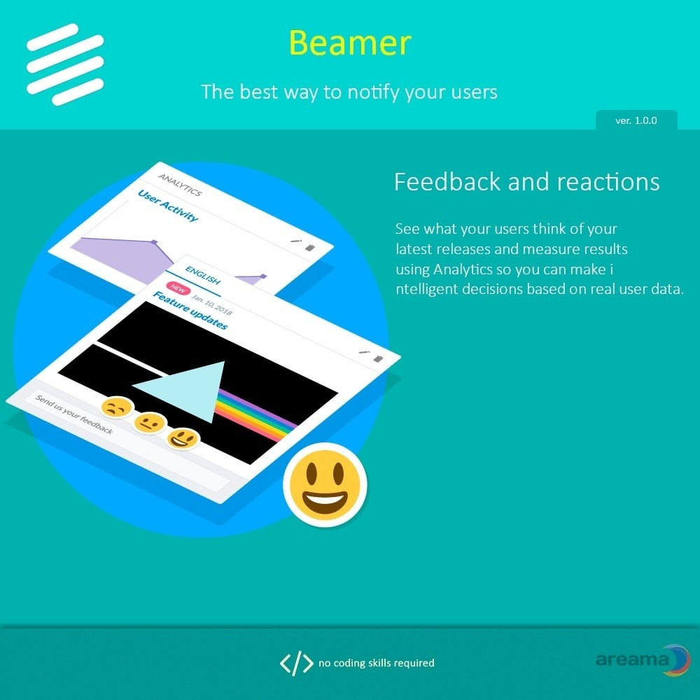 module - Blog, Forum & Nieuws - Beamer – The best way to notify your users - 4