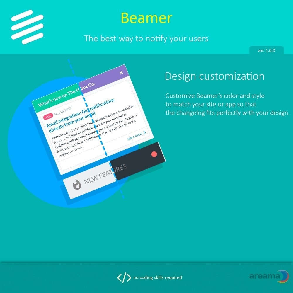module - Blog, Forum & Nieuws - Beamer – The best way to notify your users - 6