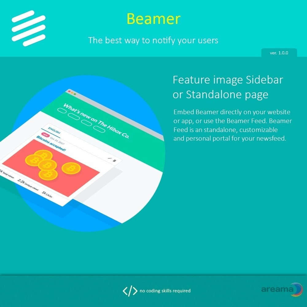 module - Blog, Forum & Nieuws - Beamer – The best way to notify your users - 8