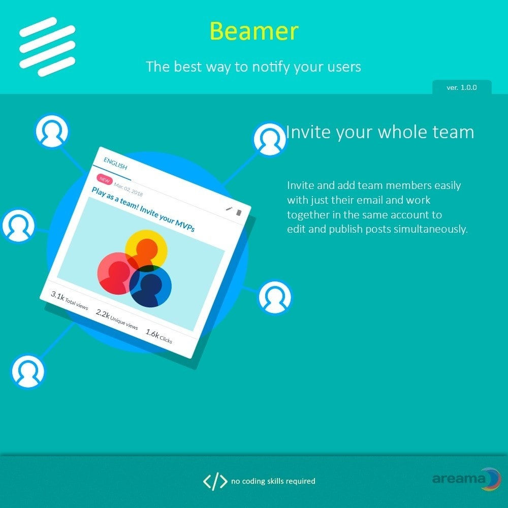 module - Blog, Forum & Nieuws - Beamer – The best way to notify your users - 9
