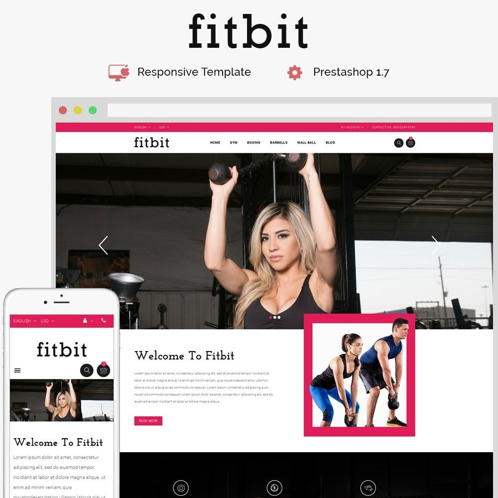 theme - Salute & Bellezza - Fitbit Fitness Store - 1