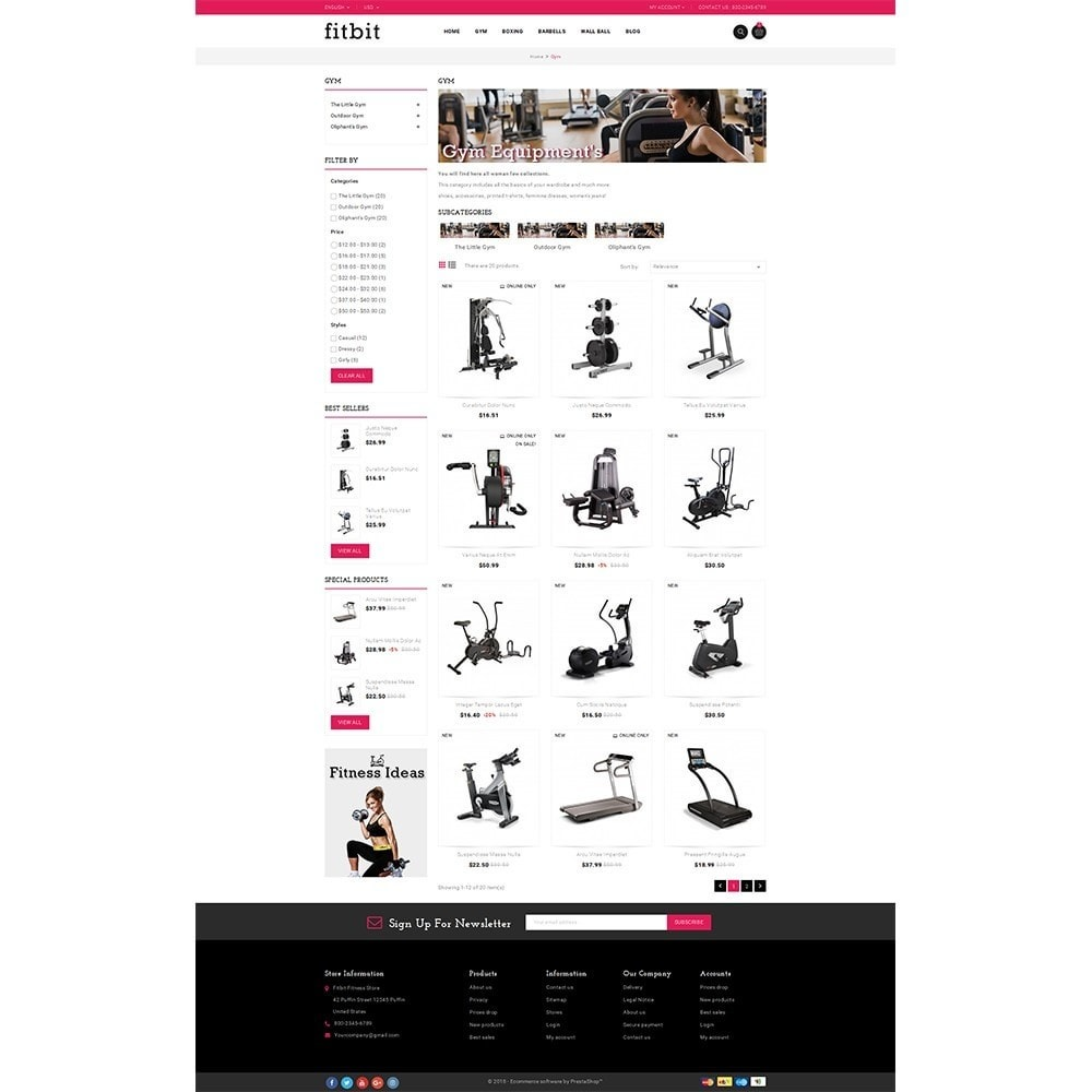 theme - Salute & Bellezza - Fitbit Fitness Store - 3
