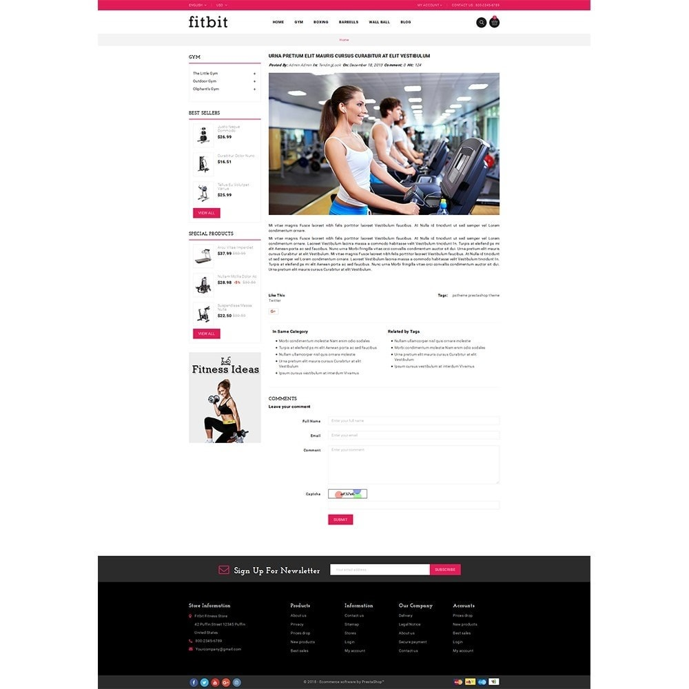 theme - Salute & Bellezza - Fitbit Fitness Store - 6