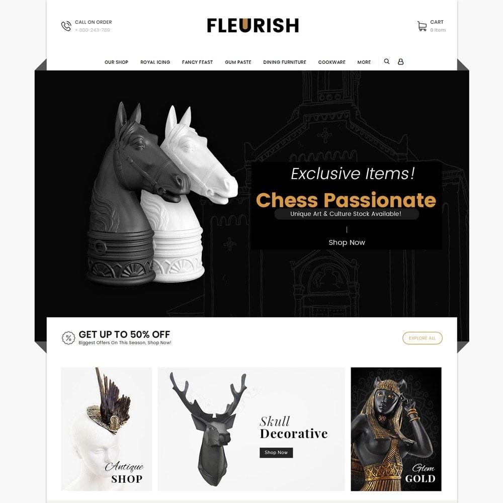 theme - Arte e Cultura - Fleurish - Art Shop - 3