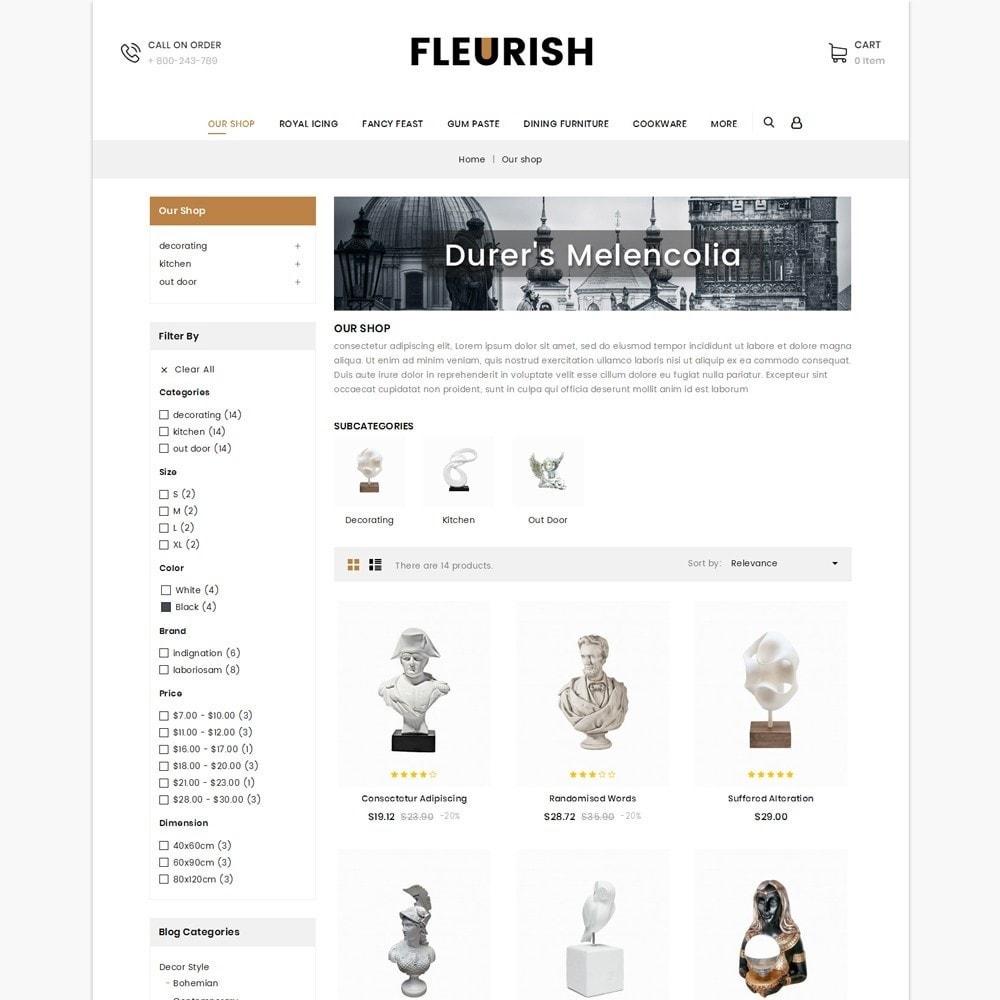 theme - Arte e Cultura - Fleurish - Art Shop - 4