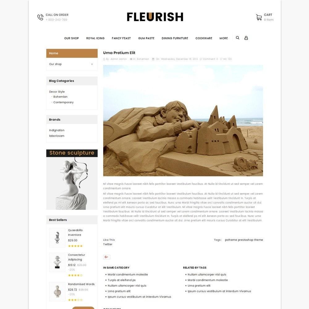 theme - Arte e Cultura - Fleurish - Art Shop - 7