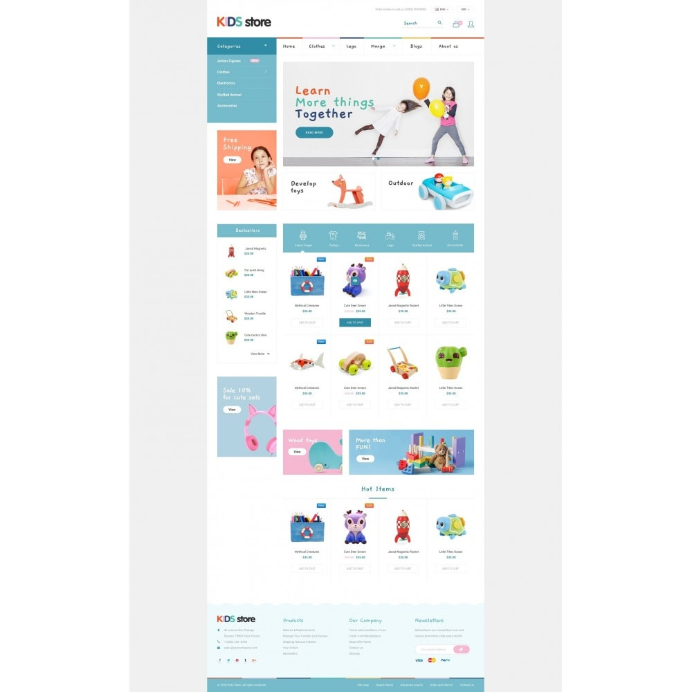 theme - Niños y Juguetes - Kids & Toys Store - 2