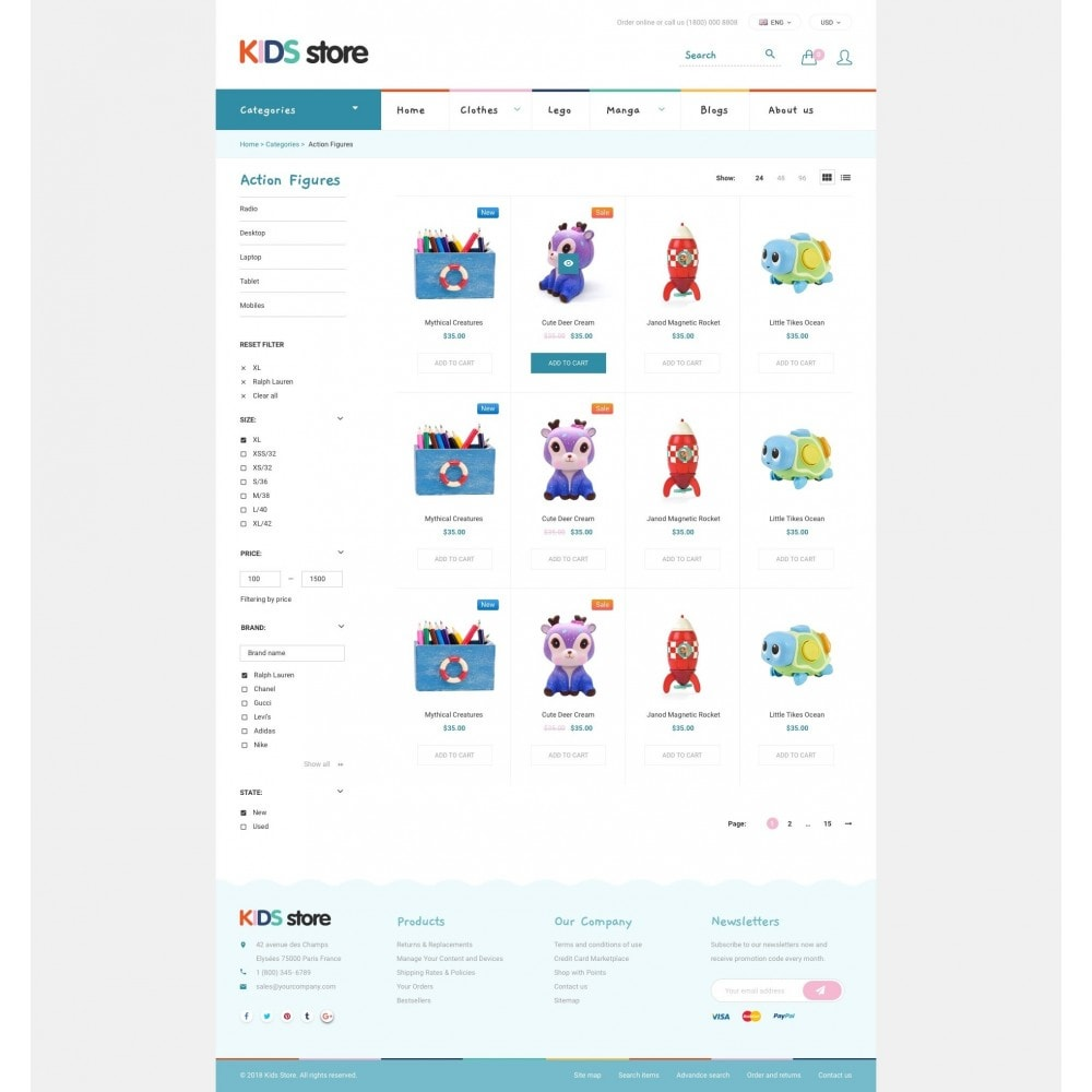 theme - Niños y Juguetes - Kids & Toys Store - 3