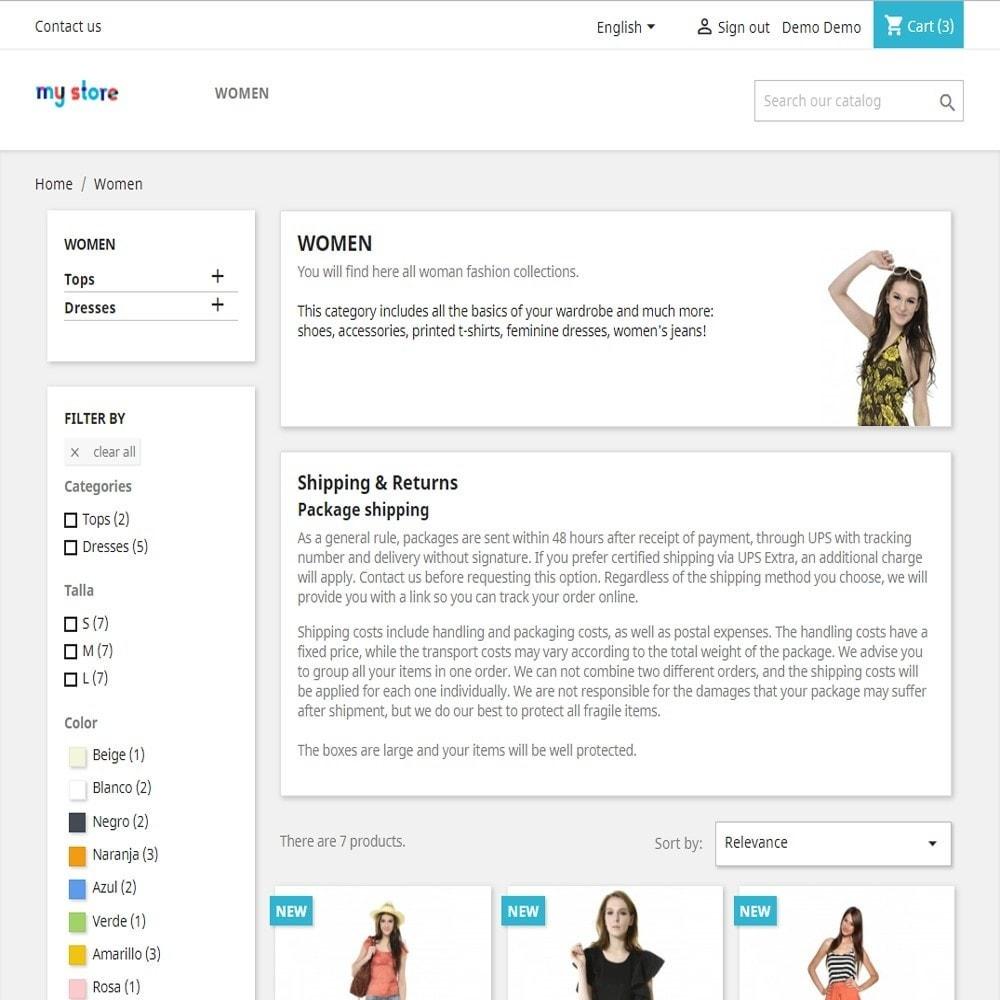 module - SEO (Posicionamiento en buscadores) - CMS en página de categorías - 2