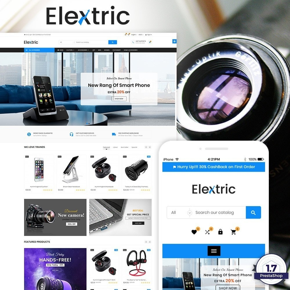 theme - Elettronica & High Tech - Electrix – Electronics and Big Super Store - 1