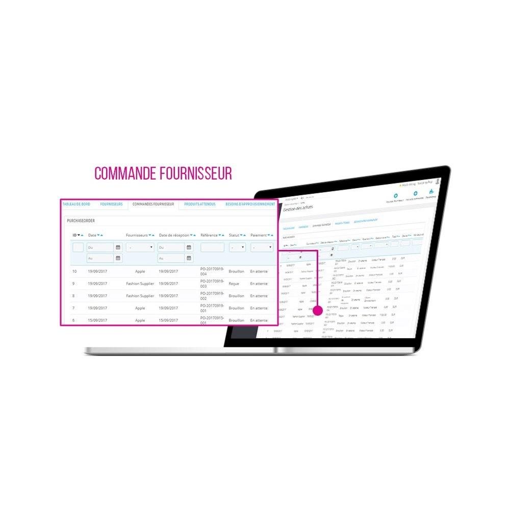 module - Zarządzanie zapasami &  Dostawcy - PrestaShop ERP - Purchase Order management - 3