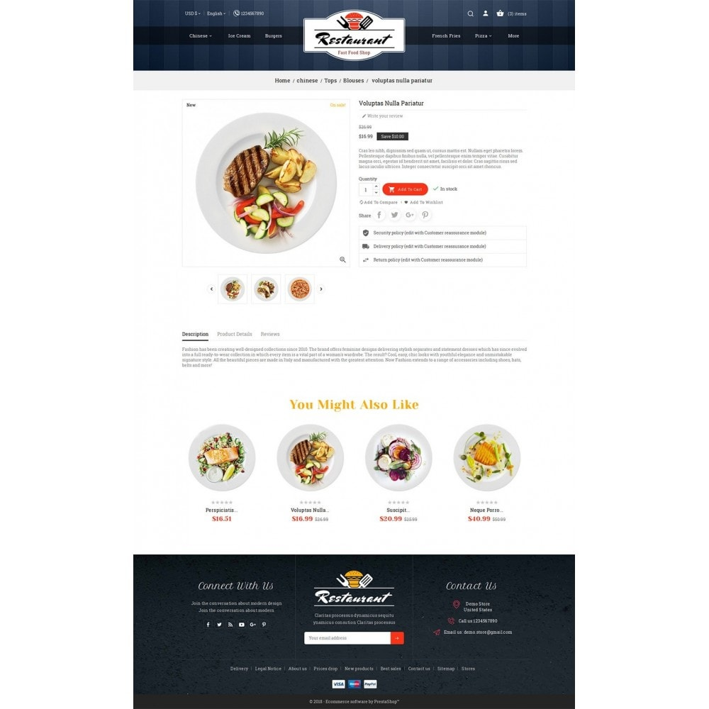 theme - Eten & Restaurant - Restaurant Food - 5