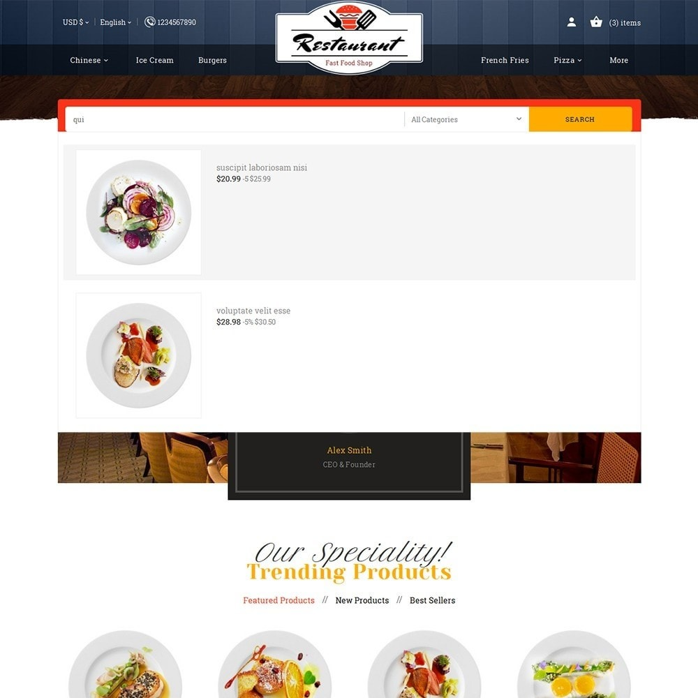 theme - Eten & Restaurant - Restaurant Food - 10