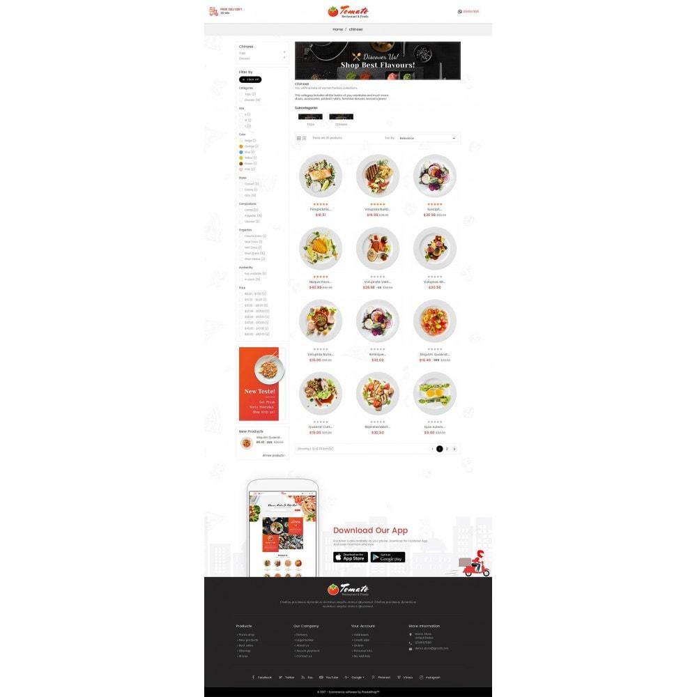 theme - Alimentos & Restaurantes - Tomato Food & Restaurant - 3