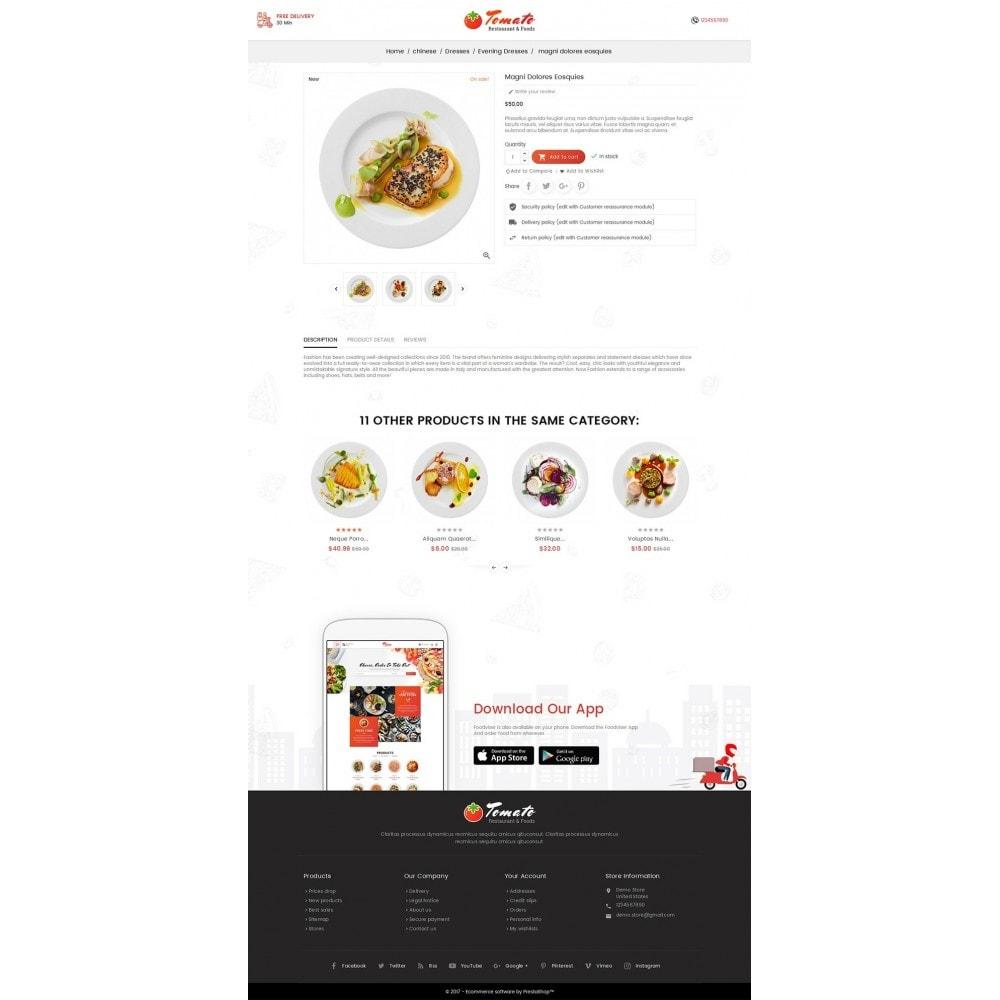 theme - Продовольствие и рестораны - Tomato Food & Restaurant - 5