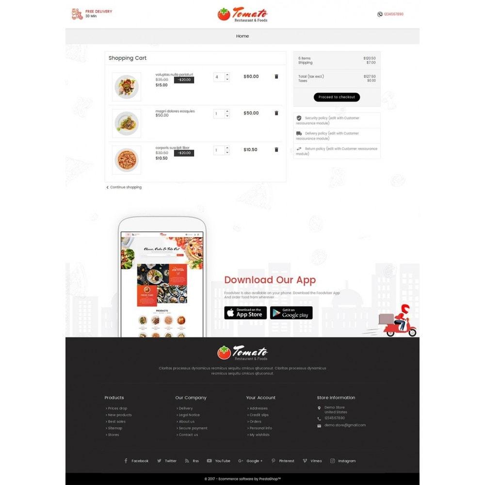 theme - Продовольствие и рестораны - Tomato Food & Restaurant - 6