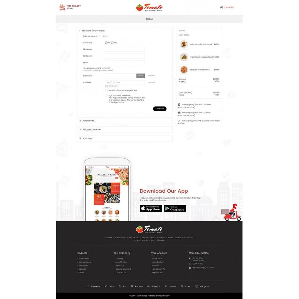 theme - Продовольствие и рестораны - Tomato Food & Restaurant - 7