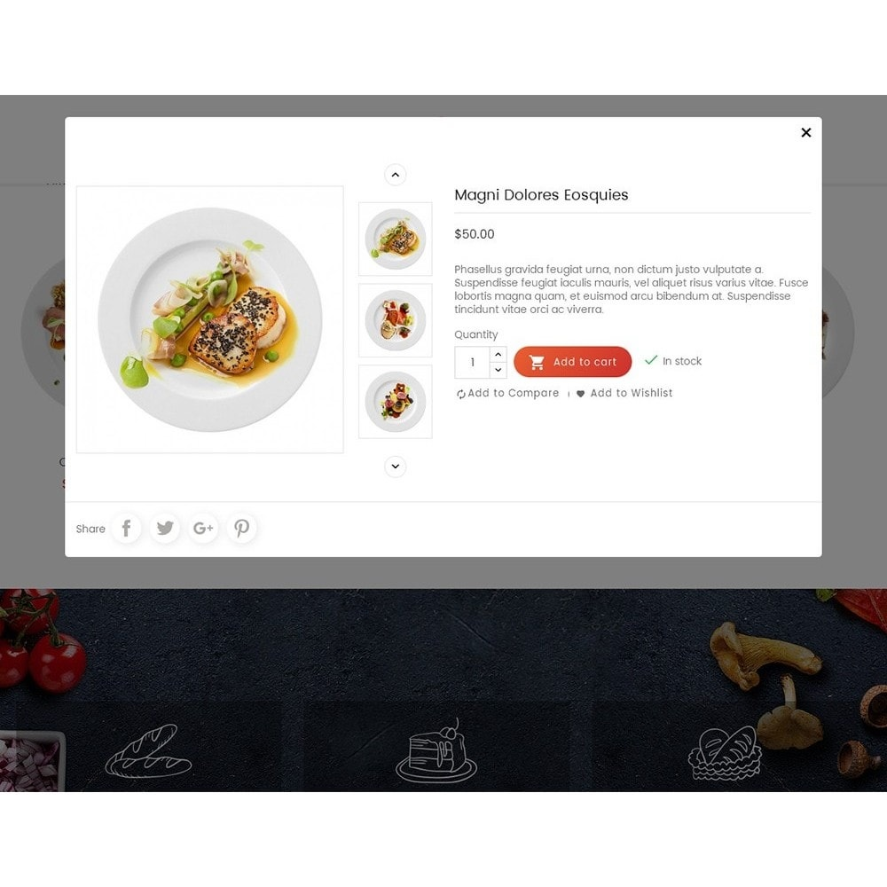 theme - Продовольствие и рестораны - Tomato Food & Restaurant - 8