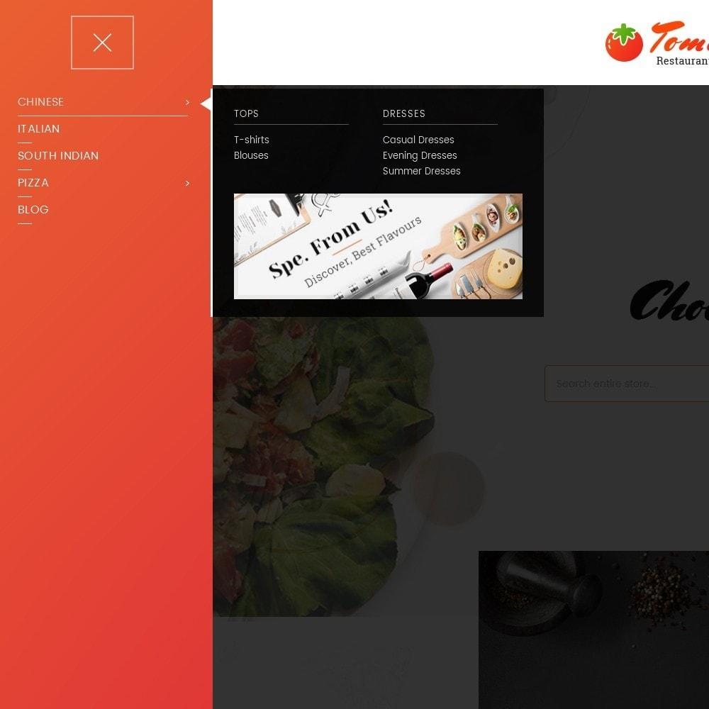 theme - Alimentos & Restaurantes - Tomato Food & Restaurant - 9