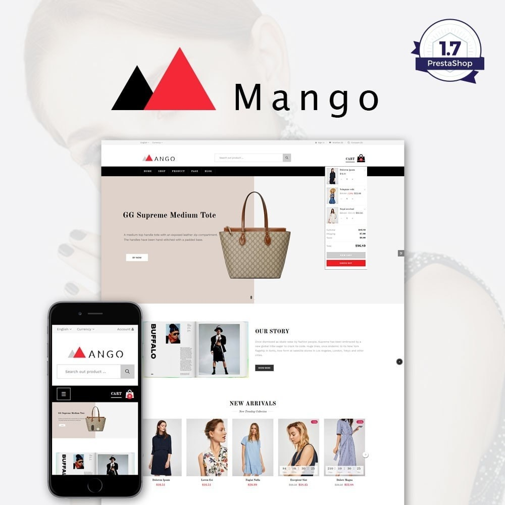 theme - Health & Beauty - Mango Fashion Store - 1