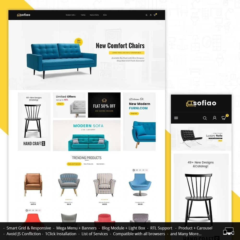 theme - Heim & Garten - sofiao modern sofa chairs - 2