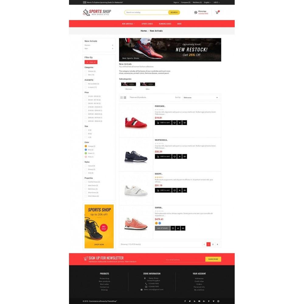 theme - Sport, Loisirs & Voyage - Sport Shoes & Footwear - 5