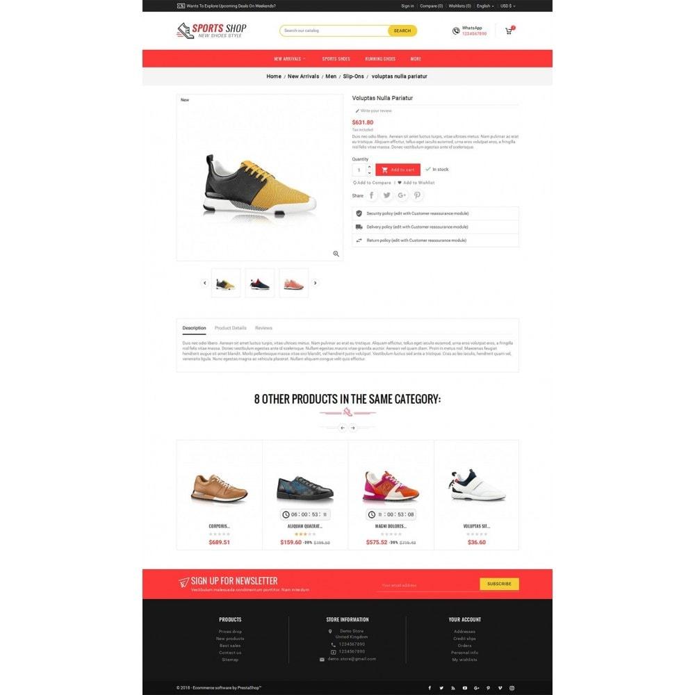 theme - Deportes, Actividades y Viajes - Sport Shoes & Footwear - 6