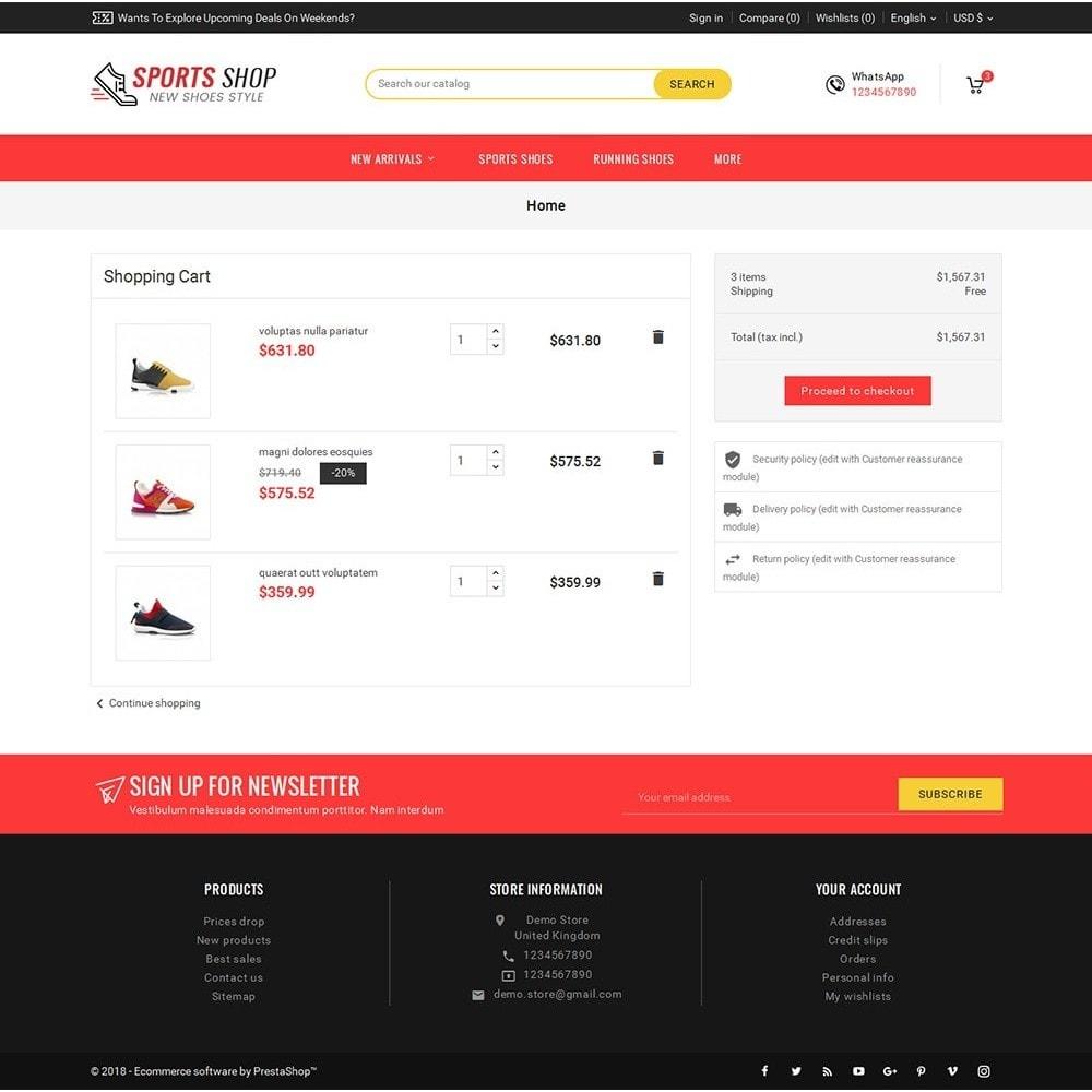 theme - Deportes, Actividades y Viajes - Sport Shoes & Footwear - 7