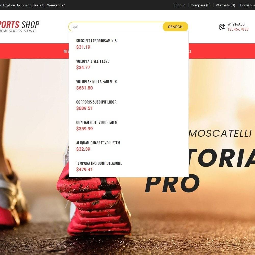 theme - Deportes, Actividades y Viajes - Sport Shoes & Footwear - 11