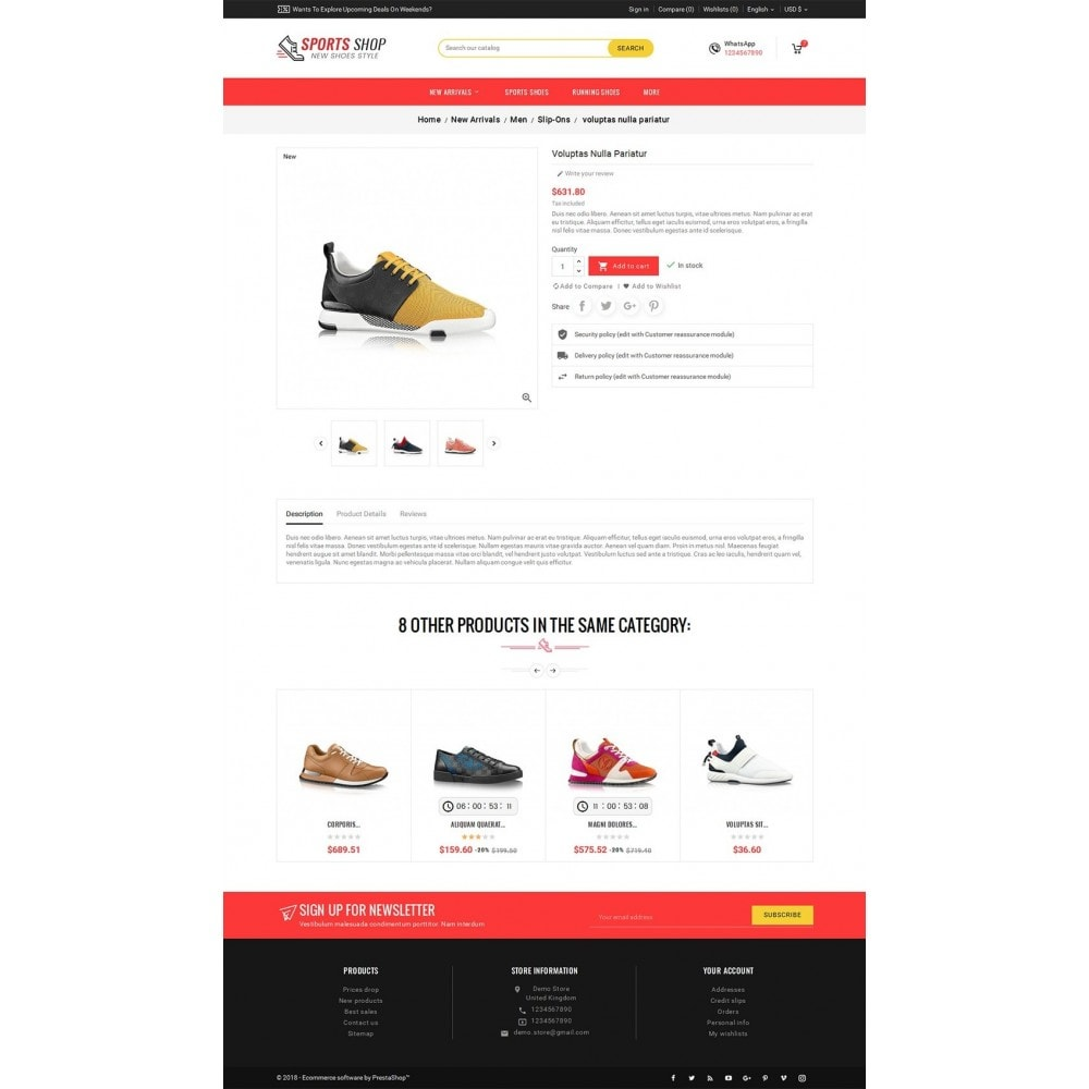 theme - Sport, Aktivitäten & Reise - Sport Shoes & Footwear - 6