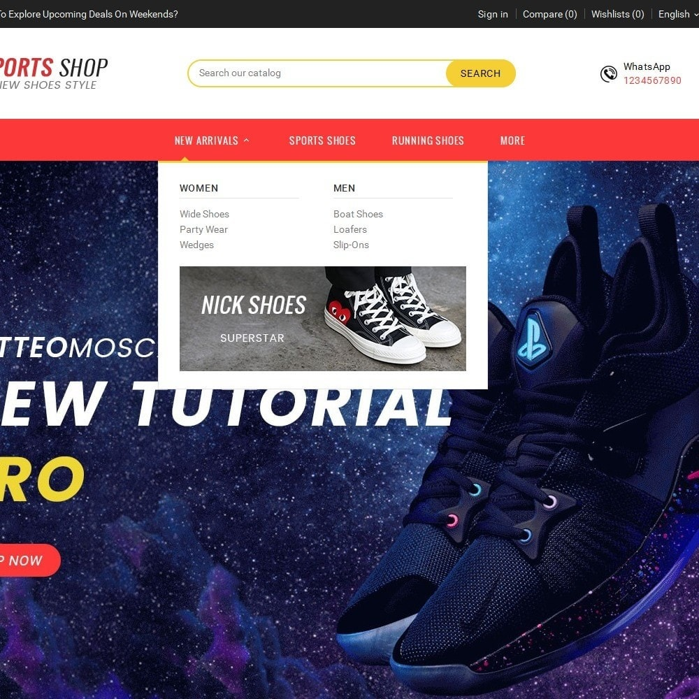 theme - Sport, Attività & Viaggi - Sport Shoes & Footwear - 10