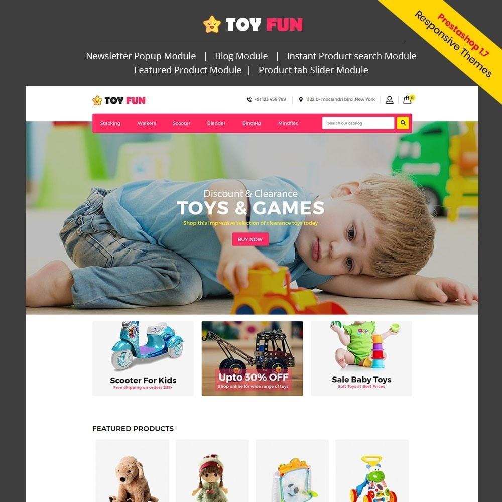 theme - Niños y Juguetes - Toy Fan - Kids Store - 1