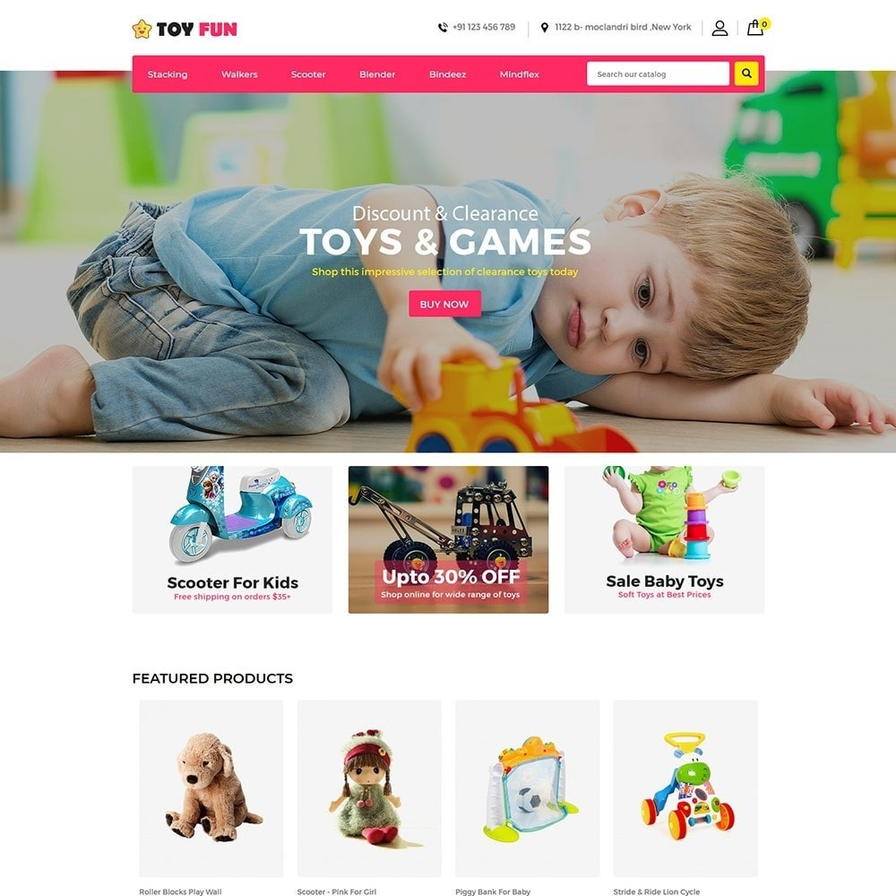 theme - Niños y Juguetes - Toy Fan - Kids Store - 2