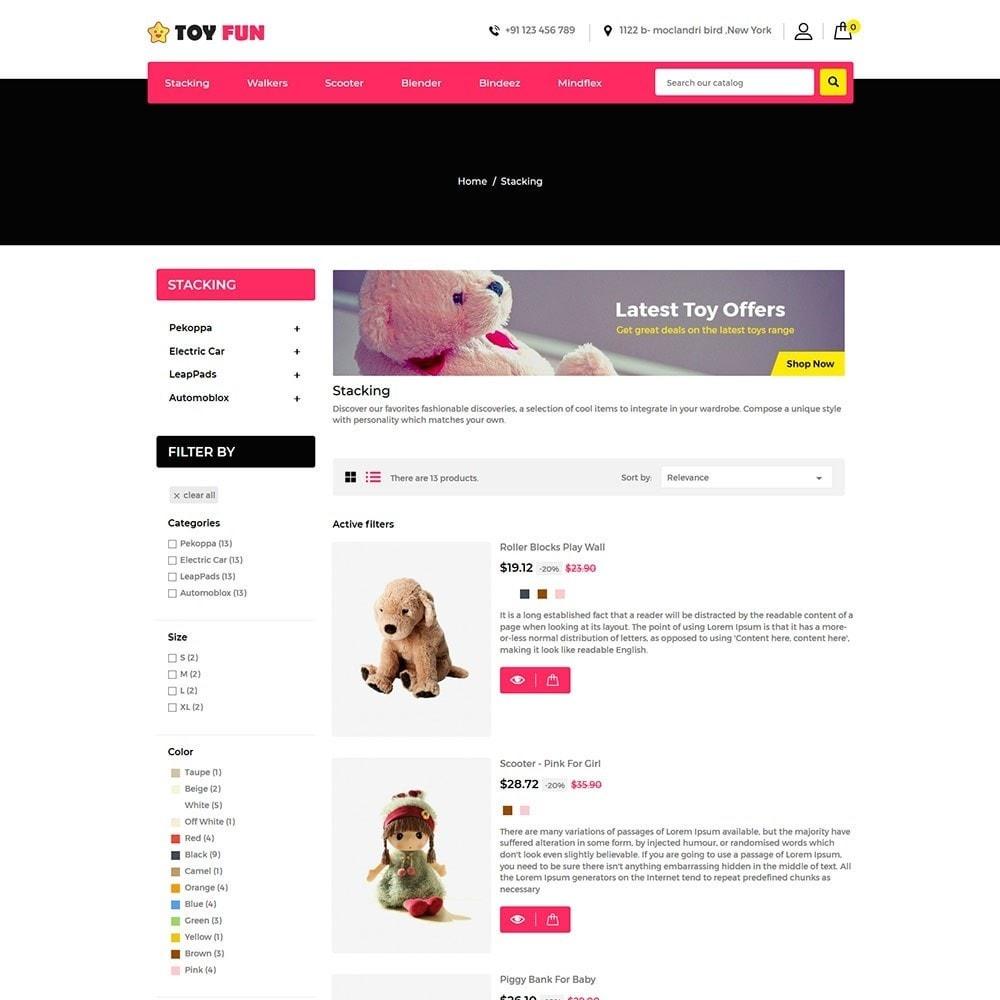 theme - Niños y Juguetes - Toy Fan - Kids Store - 4