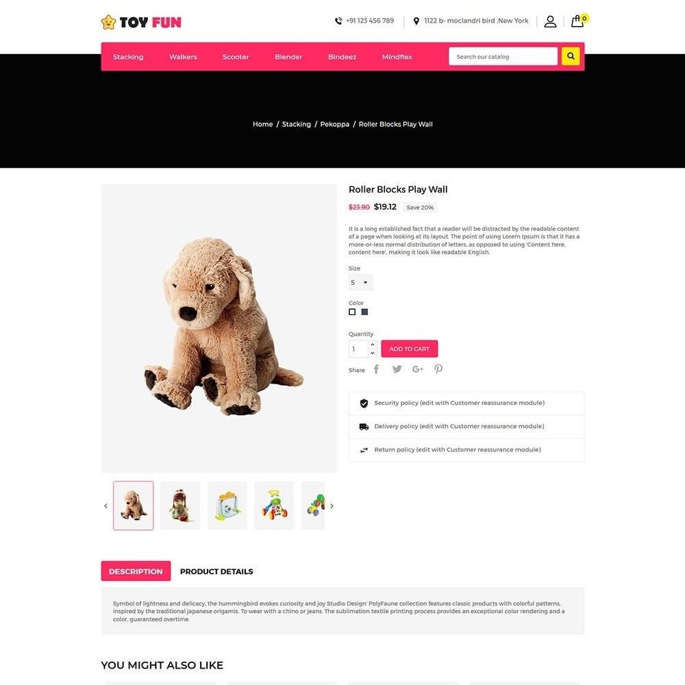 theme - Niños y Juguetes - Toy Fan - Kids Store - 5