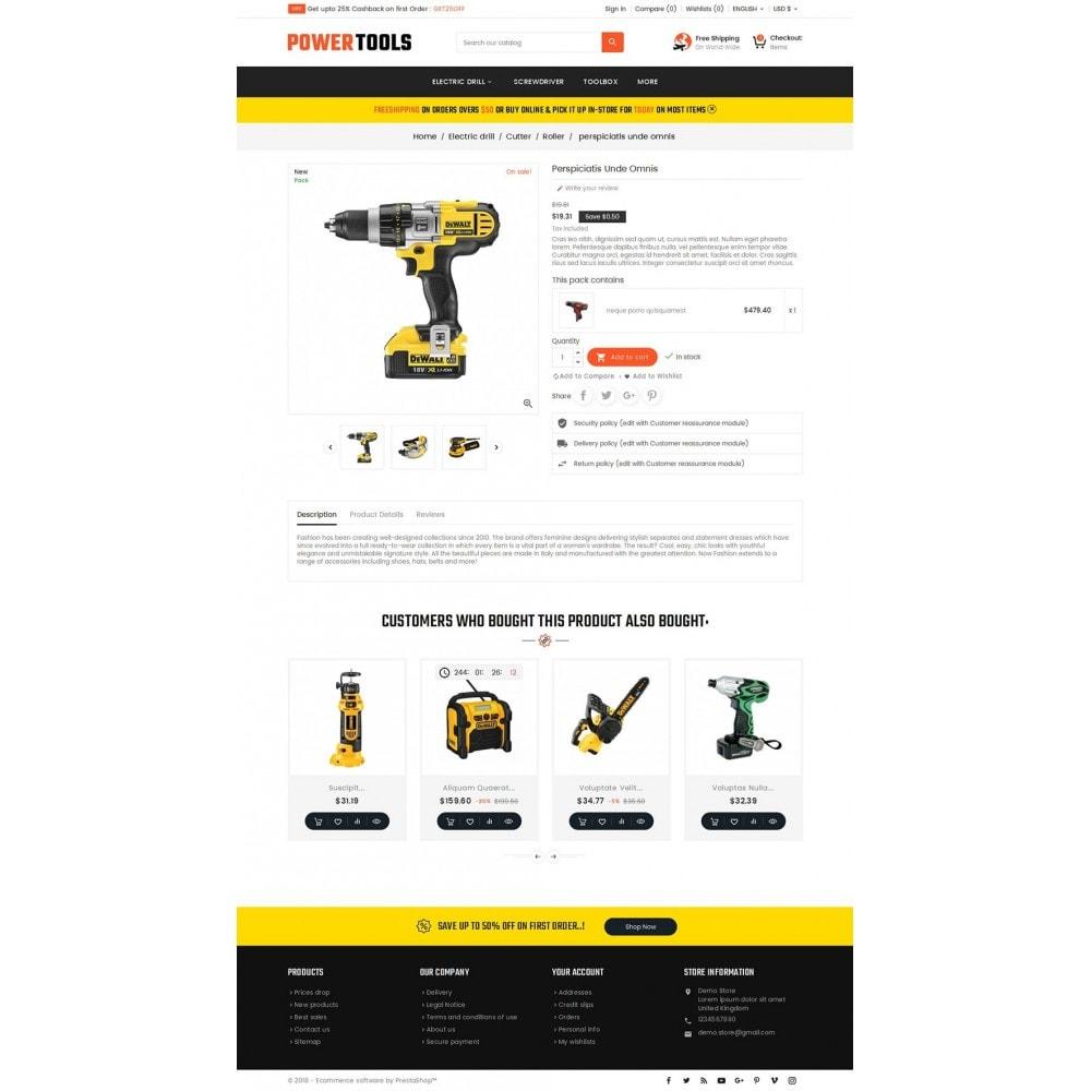 theme - Heim & Garten - Power Tools Store - 6