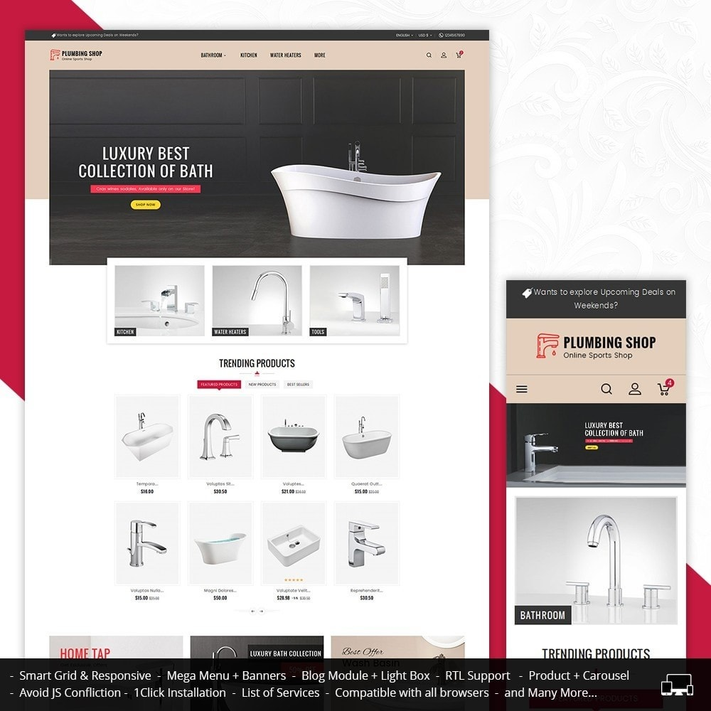 theme - Heim & Garten - Plumbing Apparatuses - 2
