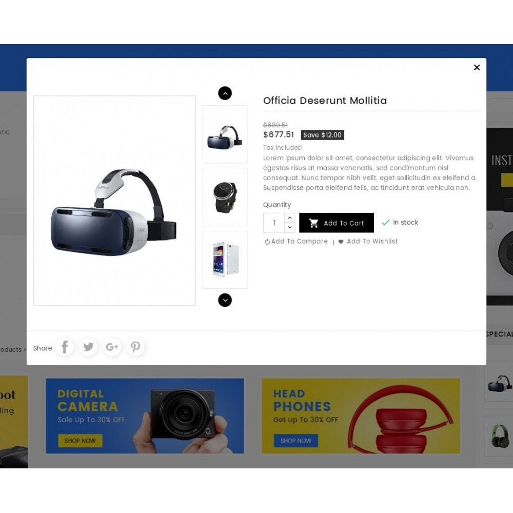 theme - Electronique & High Tech - eDigital Mega Shop Electronics - 9