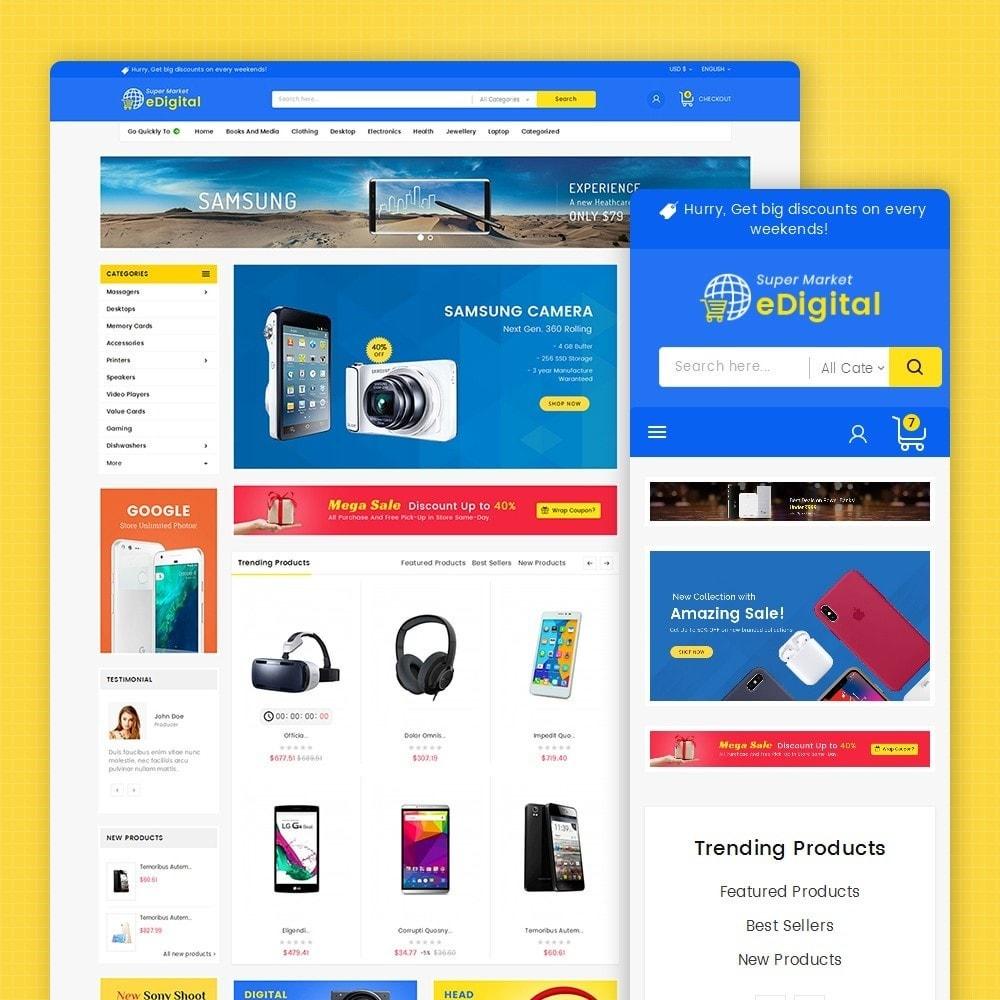 theme - Elektronik & High Tech - eDigital Mega Shop Electronics - 2