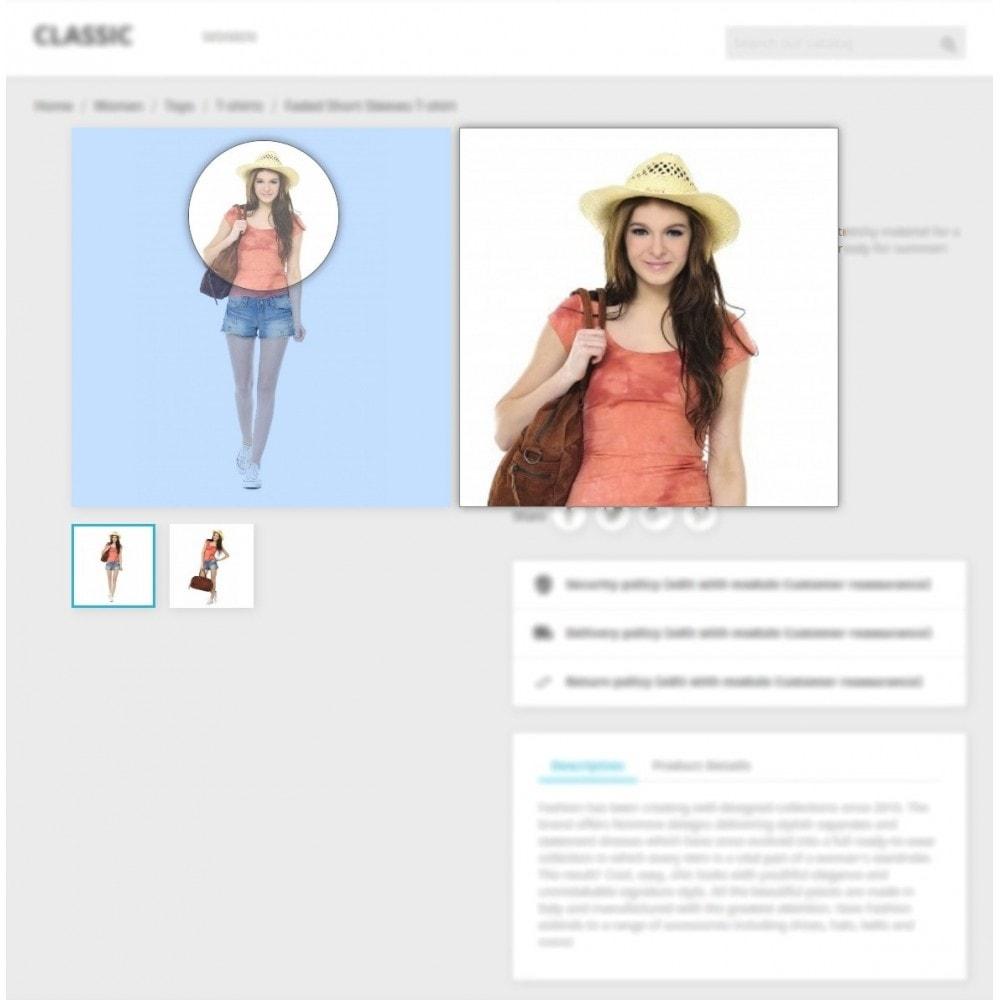 module - Pokaz produktów - Product Image Magnifier - Product Zoomer - 3