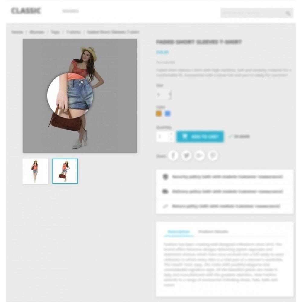 module - Pokaz produktów - Product Image Magnifier - Product Zoomer - 4
