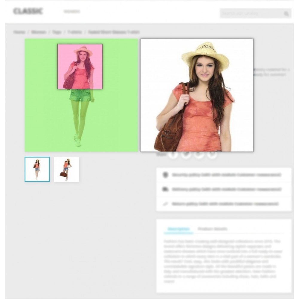module - Pokaz produktów - Product Image Magnifier - Product Zoomer - 6