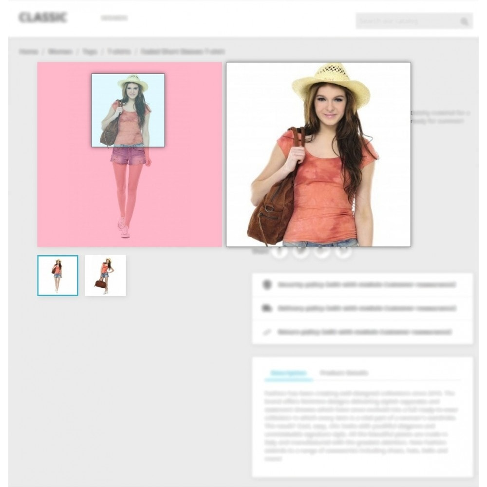 module - Pokaz produktów - Product Image Magnifier - Product Zoomer - 8