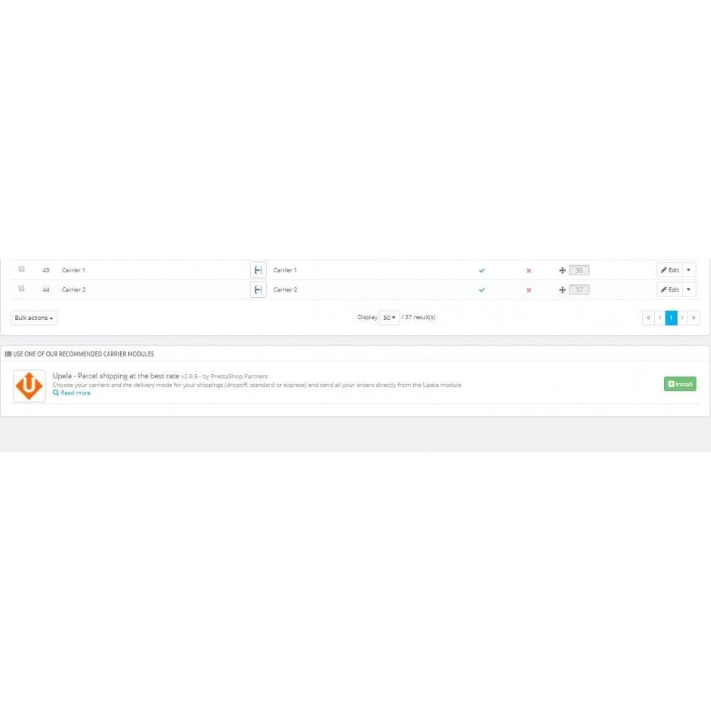 module - Custo de frete - Flexible Conditional Shipping - 3