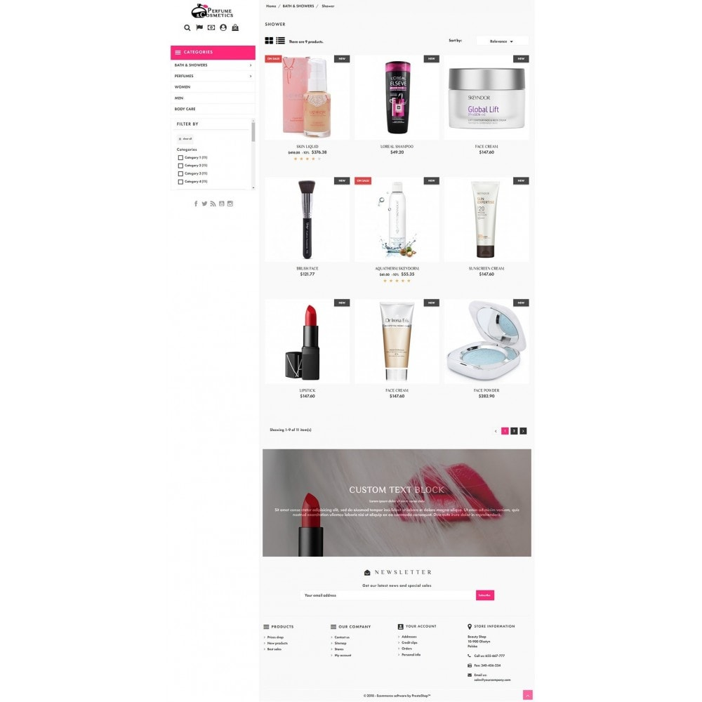 theme - Salud y Belleza - Perfume and Cosmetics - 3