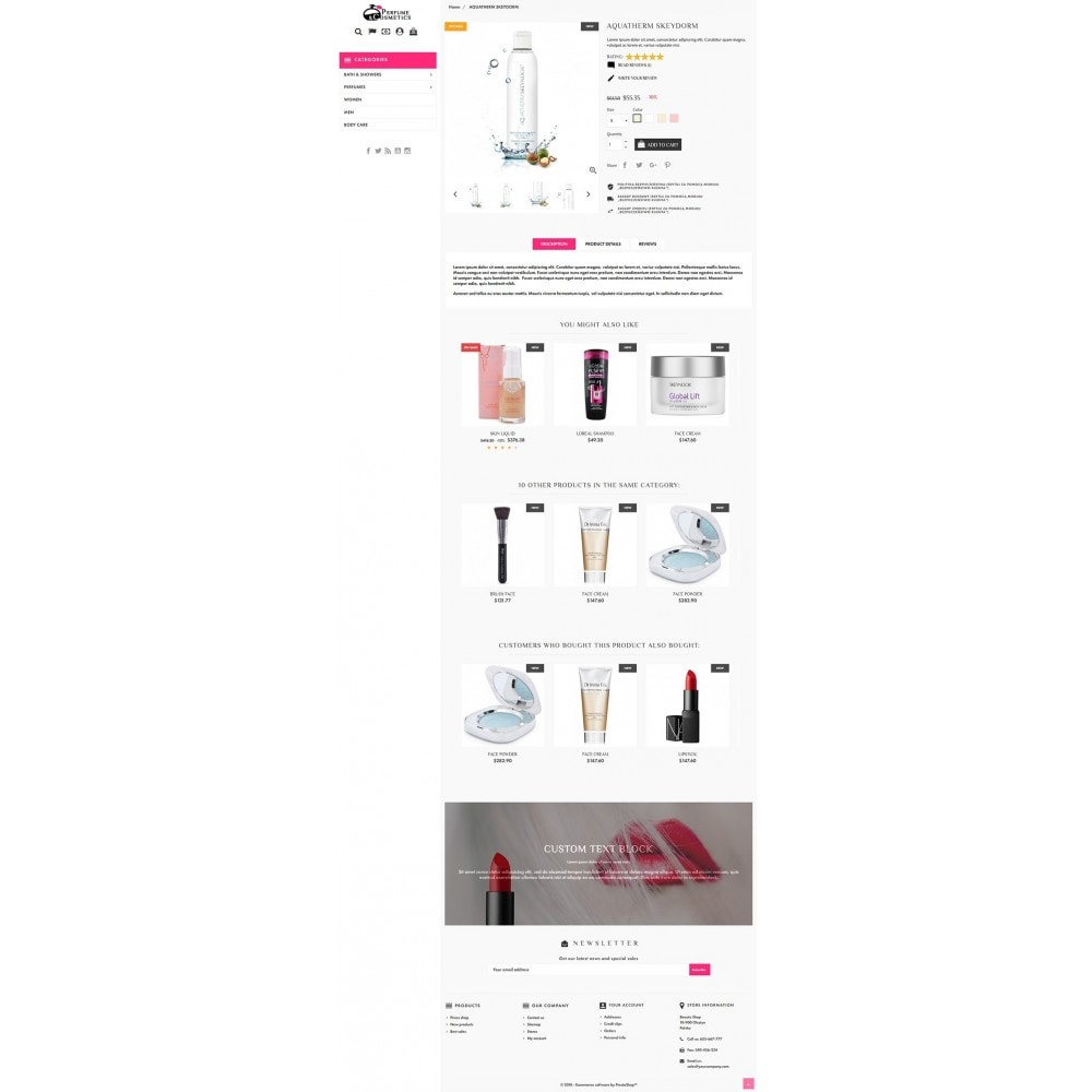 theme - Здоровье и красота - Perfume and Cosmetics - 4