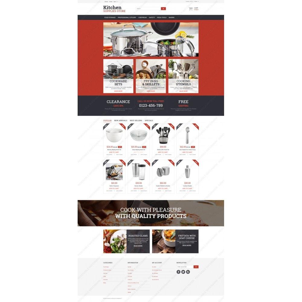 theme - Arte e Cultura - Kitchen Supplies Store - 3