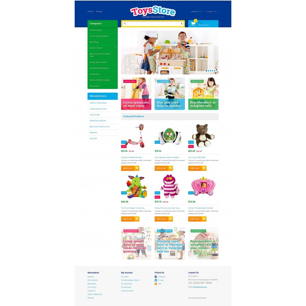 theme - Bambini & Giocattoli - Toys for Kids - 2